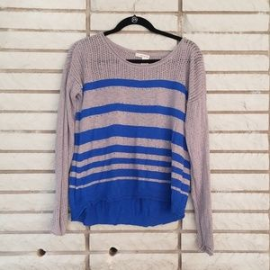 DKNY Jean's Blue and Grey top M